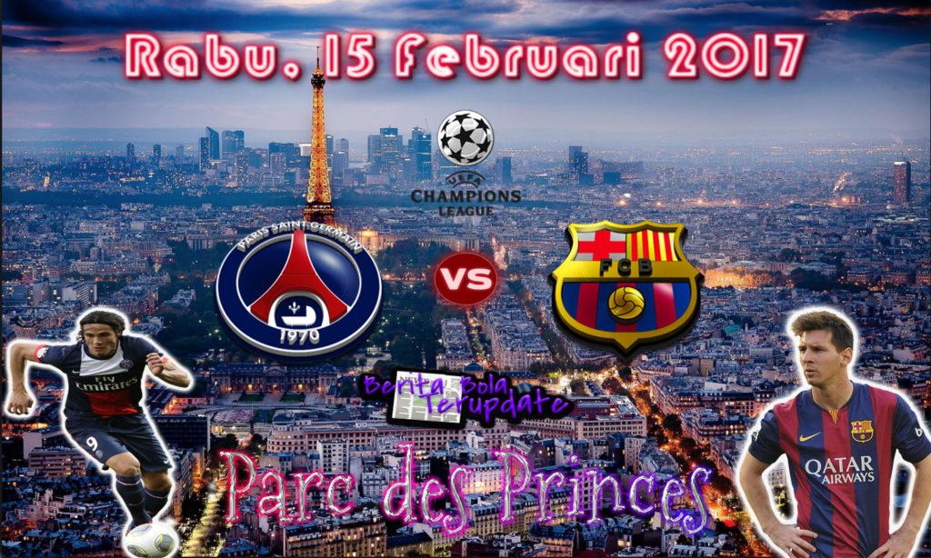 HarianBola77 - Prediksi Psg Vs Barcelona, Rabu 15 Februari 2017 - Pertandingan antara kedua tim raksasa Psg melawan Barcelona di stadion Parc Des Princes pada pukul 01 : 45 WIB.