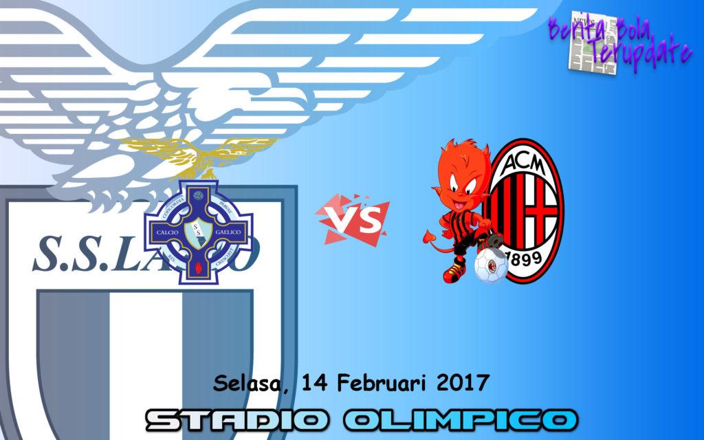 Harian Bola77 - Prediksi Lazio Vs Milan, Kamis 14 Februari 2017 -  Pada pertandingan SERIA A kali ini dimana tim tuan rumah Lazio akan menghadapi tim tamu Milan yang akan di selenggarakan di Stadio olimpico pada Selasa, 14 Februari 2017.