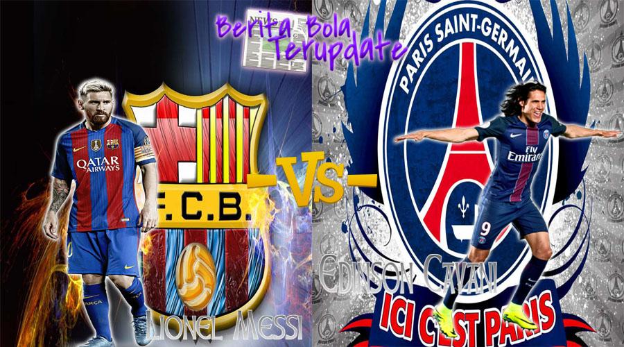 Harianbola77 - Prediksi Hasil Barcelona Vs Psg Kamis 9 Maret 2017 - Pada pertandingan UEFA Champions leg ke- 2 antara Barcelona melawan Psg di Stadium Camp Nou pada pukul  02:45 WIB.