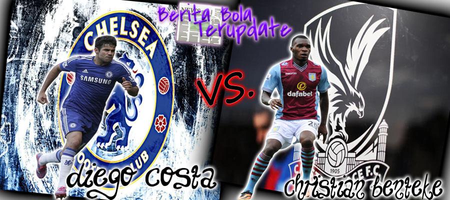 Harianbola77 - Prediksi Hasil Chelsea Vs Crystal Palace Hari Sabtu 1 April 2017 - Pertandingan Premier League antara Chelsea melawan Crystal Palace di stadion Stamford Bridge pukul  21:0 WIB